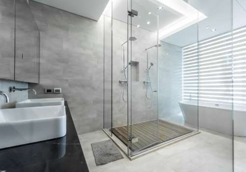 stand-up shower renovation gta